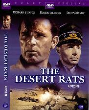 The Desert Rats (1953) New Sealed DVD Richard Burton