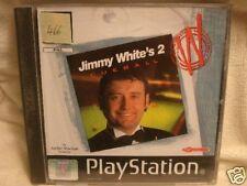 Jeu PS1 n°466 : Jimmy White's 2 cueball * billard