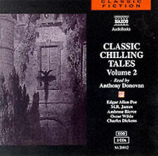 CLASSIC CHILLING TALES 2 CD AUDIO BOOK EDGAR ALLEN POE CHARLES DICKENS HALLOWEEN