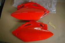 RACE TECH SIDE NUMBER PLATES  HONDA CRF450 CRF450R  CRF 2005 2006 red/orange