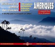 1318 // DICTIONNAIRE SONORE DES OISEAUX D'AMERIQUE 198 ESPECES