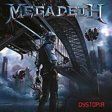 CD - Megadeth Dystopia 2016 Includes 11 Tracks