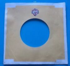 Replica Of Original Used Early Warner Brothers Label, Company Record Sleeve