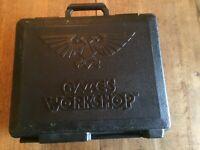 Games Workshop Job Lot Storage Carry Case Space Marines Painted Starter Set 40K