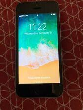 Apple iPhone SE- 32GB - Black & Slate A1429 (CDMA + GSM) Total Wireless Prepaid