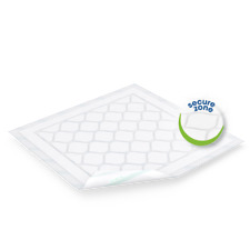 TENA Bed Plus Secure Disposable Incontinence Bed Pads 60 x 75 cm Pk of 30