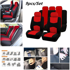 Full Set Car Seat Covers Fit Car Seat Protectors Interior Accessories Decoration