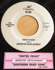 Arrested Development 45 United Front / Southern Fried Funk  w/ts` EX to NM