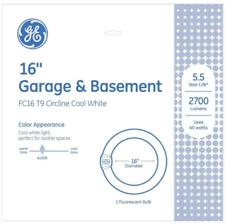 GE 40-Watt 16-in 4-pin Circline 4100 K Cool White Fluorescent Light Bulb (0103)