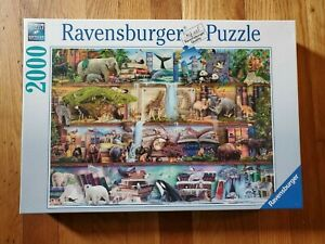 Ravensburger Puzzle 2000 Pieces Aimee Stewart: Great Animal World From 14 Years