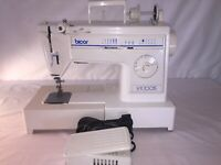 BICOR BC1005 SEWING MACHINE & PEDAL SERVICED TESTED BY TECHNICIAN READY TO SEW