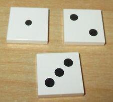 mit 3 Zähne in Weiß 1 x 2 Lego Basic 4x Sonderplatten