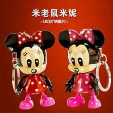 NEW Minnie Light Up LED Torch Talking I LOVE YOU Keyring Keychain TOYS UKYS66