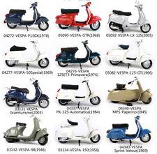 Maisto Piaggio Vespa Motorcycle Diecast Model 1:18