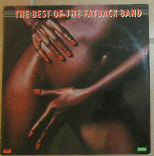 Vinyl LP The Best Of The Fatback Band (cheesecake cover, nude, sexy, Sammler)
