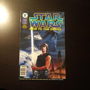 STAR WARS HEIR TO THE EMPIRE #1(Dark Horse 1995) First Thrawn/Mara Jade Newsstan