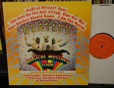 The BEATLES Magical Mystery Tour Orange label vinyl VG++