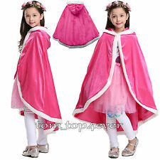 Disney Princess Dress Up Cape Classic Girls Fancy Fanon Costume Children Gifts