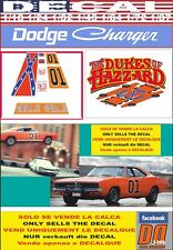 DECAL DODGE CHARGER 1969 GENERAL LEE THE DUKES OF HAZZARD (06)