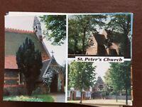 da1 postcard unused st peter's church chalvey slough