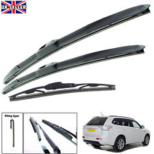 Mitsubishi Carisma Hatch Aero VU Front Flat Window Windscreen Wiper Blades