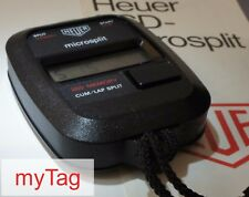 HEUER 80'S MICROSPLIT 250 DIGITAL STOP WATCH
