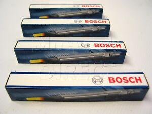SET x4 BOSCH OEM Glow Plugs VW Mk5 Golf Passat SEAT Leon Audi A3 2.0 TDI CBAB