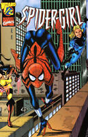Spider-Girl 1/2 Wizard Exclusive Mail-Away COA Ron Frenz Tom DeFalco F4 NM
