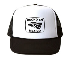 Echo En Mexico Trucker Hat Mesh Cap Snapback Adjustable Brand New-Black