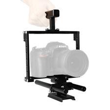 CAMVATE Universal Camera Cage Handle Rig DSLR Rod NATO Rail QR Baseplate fr A7II
