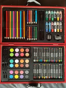 101-Pc Art Wood Set Pencils Crayons Paint CLEARANCE..HOLIDAY BLOWOUT SALE