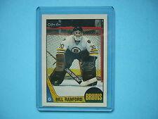 1987/88 O-PEE-CHEE NHL HOCKEY CARD #13 BILL RANFORD ROOKIE NM SHARP!! 87/88 OPC