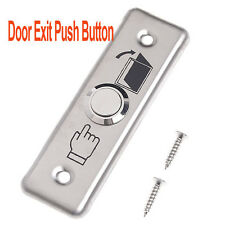 Stainless Door Exit Push Button Control Station Switch Release Lock Gate System