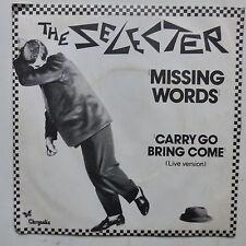 THE SELECTER Missing words 6198340  SKA