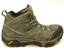 Merrell Moab 2 Mid US 10 EU 41 Gray Hiking Waterproof Athletic Womens Boots