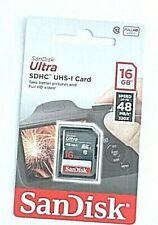 SANDISK ULTRA 16GB SDHC UHS-1  BRAND NEW