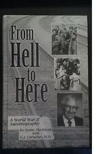 From Hell to Here - A World War II Autobiography (Auschwitz Buchenwald) - Signed
