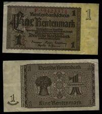 GERMANY 1 Rentenmark 1937 circulated (vf)