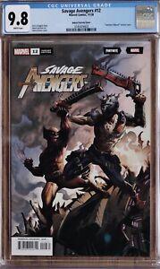Savage Avenger 12 CGC 9.8 Fortnite Kubert Variant