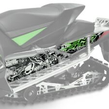 Arctic Cat Team Green Chaos Tunnel Graphics Decal Wrap - 2012-2018 ZR F XF M