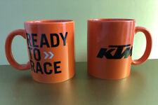 0401 Orginal KTM Kaffeetasse Tasse 2 Stück Teetasse Kaffeebecher Orange Neu