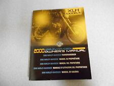 Harley-Davidson Fahrerhandbuch XLH Sportster Modell 2000 owner´s manual