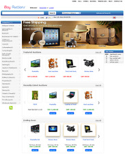 Auction website - EBay Clone Website for SALE