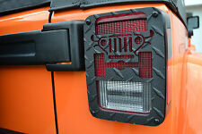 Jeep Wrangler JK 2007-2017 Jeep Tweaks  Tail Light Guards Black JT01B