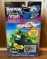 Tailwhip Killer Croc Vintage Batman Knight Force Ninjas Figure New 1998 Kenner