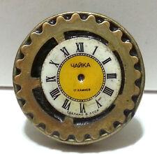 Steampunk Golden Clock Ring - Vintage Ring,Adjustable Brass Handmade