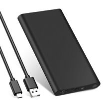 10000mAh Power Bank Fast Charging Battery Pack Dual USB Portable Charger USA