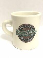 KRISPY KREME Coffee Company Cup Mug Donut Logo- Diner Style Vintage Gift Arabica