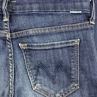 Mother Womens The Looker Skinny Ankle Stretch in Clean Sweep Jean Size 25 27x28