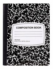 BRAND NEW Jot 100-Sheet Classic Black & White Composition Notebooks.